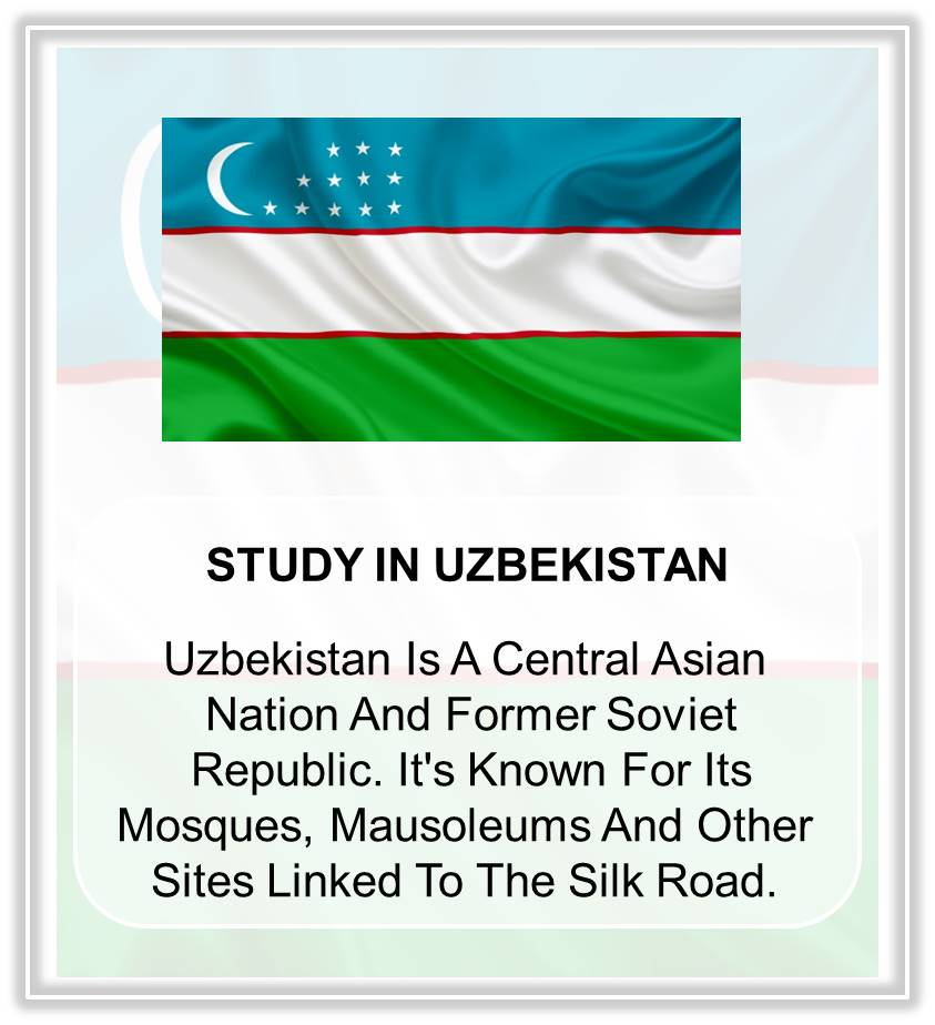 STUDY IN UZBEKISTAN