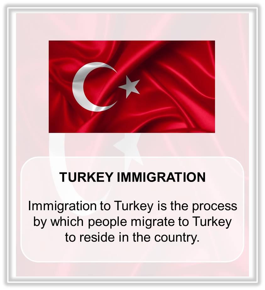TURKEY IMMIGRATION